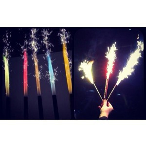 Nite Sparx Big Birthday Candles Champagne Bottle Sparklers