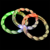LED RAINBOW SPIRAL BRACELET -CLOSEOUTS-