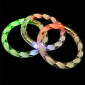LED RAINBOW SPIRAL BRACELET -CLOSEOUTS-