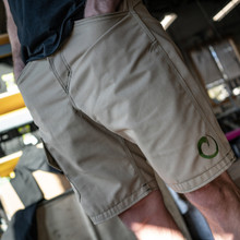 2O18 TAN SHARKFIN CARGO SHORTS
