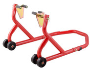 Front Paddock Stand With Under Fork Adaptors - Red