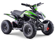 Stomp AC/DC Electric ATV Neon Green