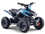 Stomp AC/DC Electric ATV Neon Blue