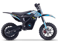 Stomp Wired Electric Pit Bike Neon Blue