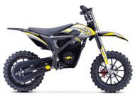 Stomp Wired Electric Pit Bike Neon Yellow