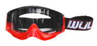 Wulfsport Goggles Red