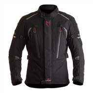 THE TITANIUM OUTLAST® IS AN EXTREMELY VERSATILE, MID-LENGTH TEXTILE MOTORCYCLE JACKET. LONGER THAN A SPORTS JACKET, BUT SHORTER THAN A TOURING JACKET, THIS MAKES IT SUITABLE FOR RIDING ON ALL TYPES OF BIKES