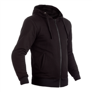 LINED WITH KEVLAR®, THE ZIP THROUGH HOODIE IS THE ULTIMATE BLEND OF CASUAL COMFORT AND CE PROTECTION.