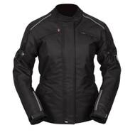 Spada Textile Jacket Barn Q Ladies CE Black