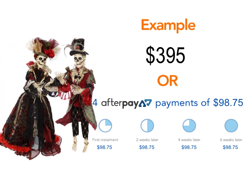 afterpay halloween example