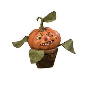 Bethany Lowe Cheeky Pumpkin Perennial - 38cm