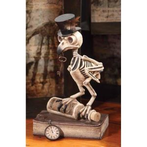Bethany Lowe Grimoire Skeleton Owl