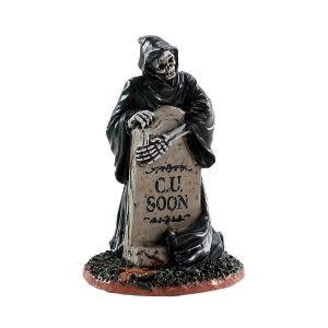 Lemax SpookyTown Grim Reaper - Tombstone