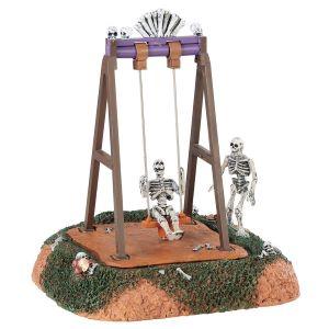 Lemax Skeleton Swings