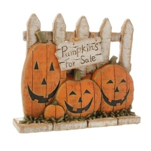 Raz Imports Pumpkins for Sale Table Piece