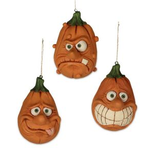 Bethany Lowe Silly Pumpkins (Sold Separately)