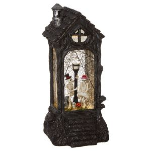 Raz Imports Skeleton Lighted Water Lantern - 29cm