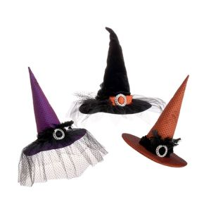 Raz Imports Witches Hats (52cm) 3 Colours