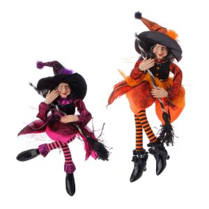 Raz Imports Sitting Witches (2 Colours)