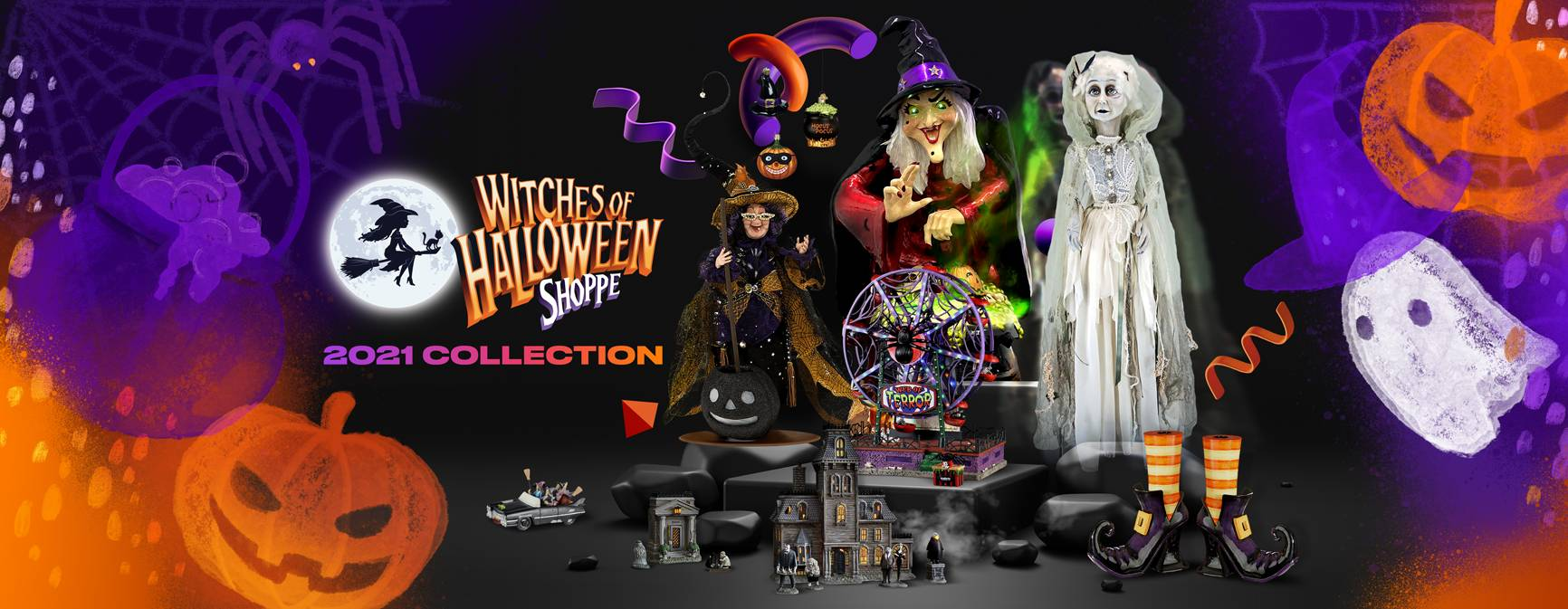 Witches of Halloween 2021 Collection