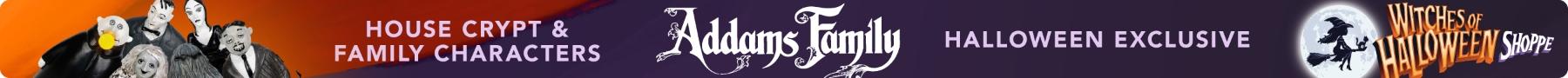 Halloween Addams Family Banner