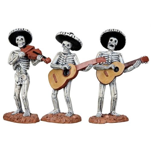 Lemax Skeleton Mariachi Band
