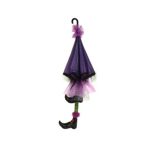 RAZ Umbrella for a witch Green