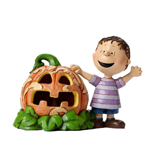Linus and his pumpkin