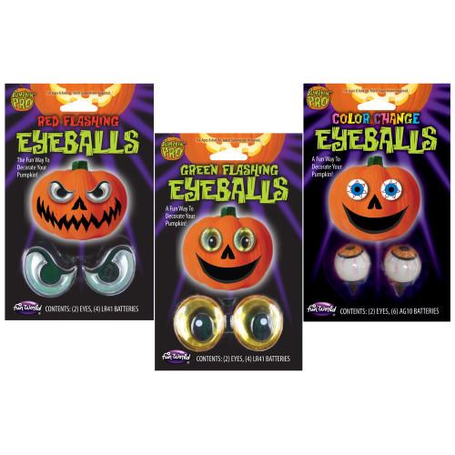Halloween Pumpkin Eye Balls