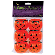 Trick or Treat Pumpkin Candy Baskets