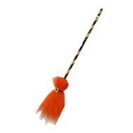 Orange Witches Broom