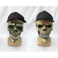 Halloween Latex Mask with Cap