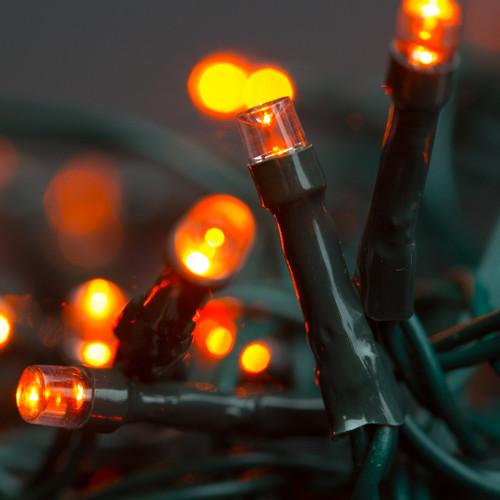 Orange Halloween LED Lights