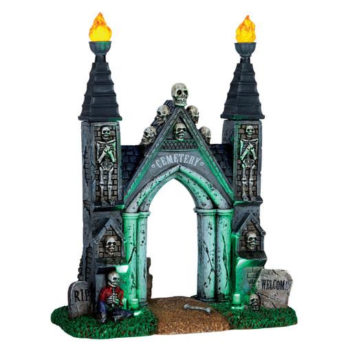 Lemax Cemetery Gate