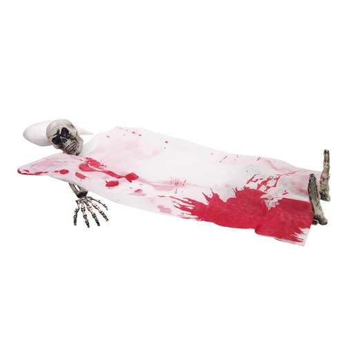 Lifesize Bloody Skeleton Bedding