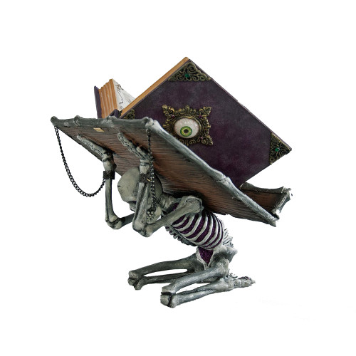 A Witch Spellbook on Skeleton