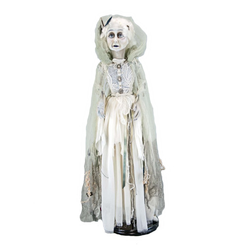 Lady in Mourning Halloween Doll