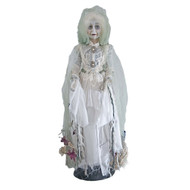 Floating Lady in Mourning Halloween Doll - 59cm