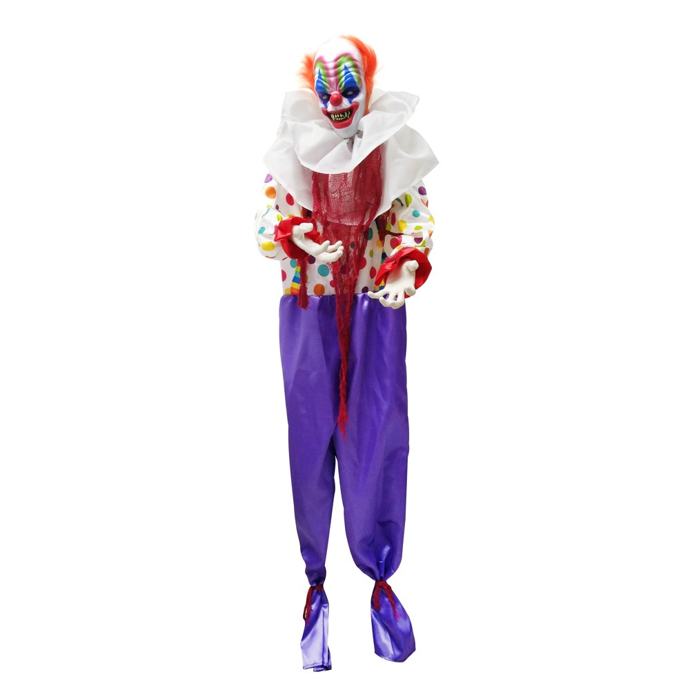 animated evil halloween clown - witches of halloween