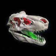 Light Up Halloween T-Rex Skull
