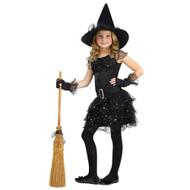 Girls Witches Glitter Dress Halloween Costume