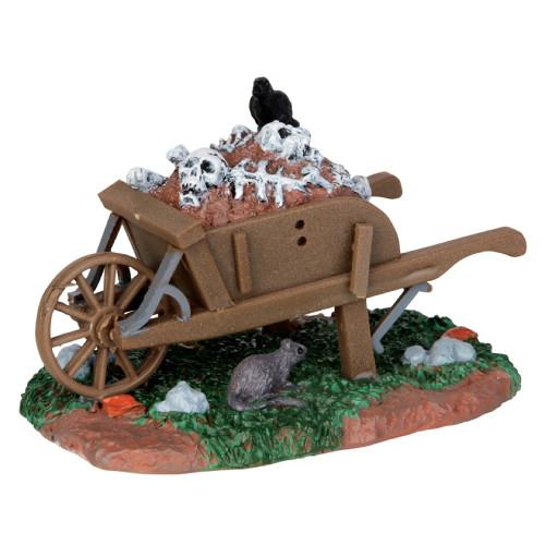 Lemax Scary Wheelbarrow