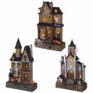 Light Up Haunted House - 34cm