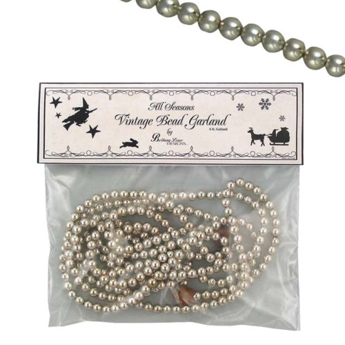 Bethany Lowe Silver Beaded Garland