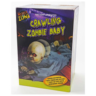 Animated Crawling Zombie Baby (Sound and Lights)