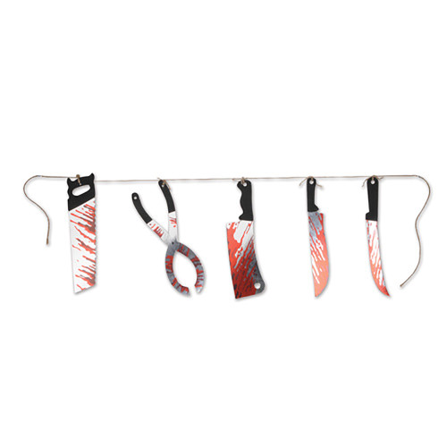 Bloody Knives String Banner