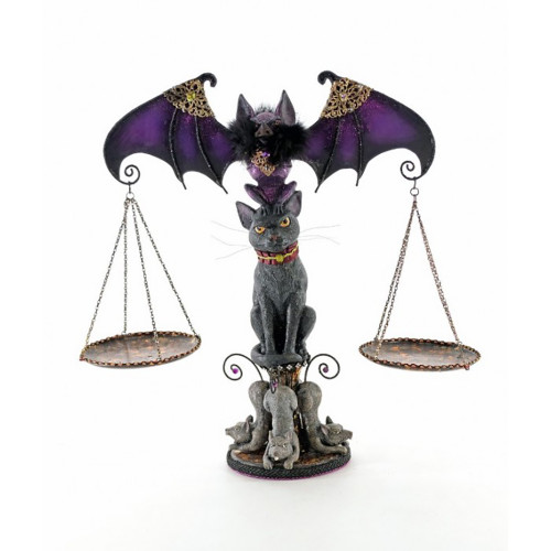 Katherine's Purple Bat and Cat Scales