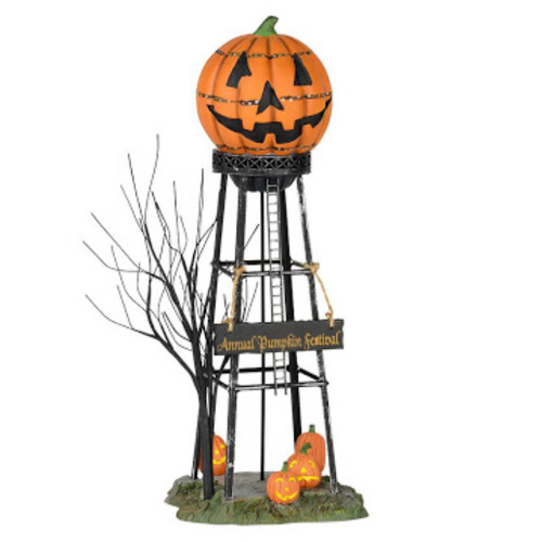 Water Tower Halloween