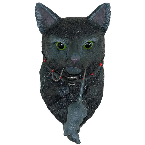 Black Cat Halloween Door Knocker