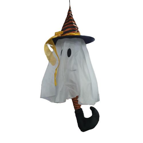 Animated Kicking Hanging Ghost
